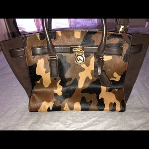 Michael Kors Calfhair Camoflauge Bag